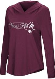 Colosseum Texas A&M Aggies Womens Maroon I Stick Hooded Sweatshirt