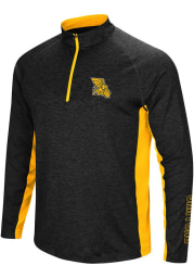 Colosseum Missouri Western Griffons Mens Black Upstart Long Sleeve 1/4 Zip Pullover