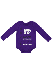 Colosseum K-State Wildcats Baby Purple Its Still Good LS Tops LS One Piece