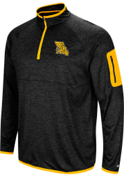 Colosseum Missouri Western Griffons Mens Charcoal Amnesia Long Sleeve 1/4 Zip Pullover
