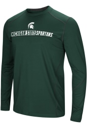 Colosseum Michigan State Spartans Green Bayous Long Sleeve T-Shirt