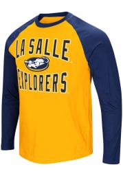 Colosseum La Salle Explorers Gold Cajun Long Sleeve T Shirt