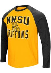 Colosseum Missouri Western Griffons Gold Cajun Long Sleeve T Shirt