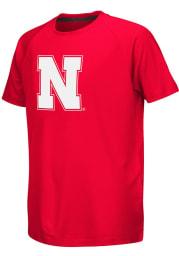 Colosseum Nebraska Cornhuskers Youth Red Kramer Short Sleeve T-Shirt