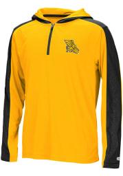 Colosseum Missouri Western Griffons Youth Black Helisking Long Sleeve Quarter Zip Shirt