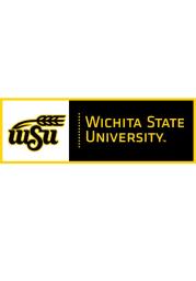 Wichita State Shockers 12x36 Flocked Pennant