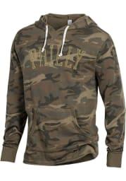 Alternative Apparel Philadelphia Camo School Yard Long Sleeve Hood Sweatshirt