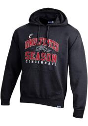 Cincinnati Bearcats Mens Black 2020 AAC Champions Long Sleeve Hoodie