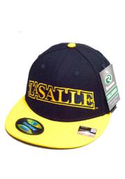 La Salle Explorers Mens Navy Blue Surge Fitted Hat