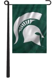 Michigan State Spartans 10.5x15 Green Garden Flag
