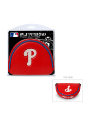 Philadelphia Phillies Red Mallet Putter Cover