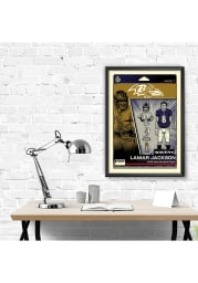 Lamar Jackson Baltimore Ravens Lamar Jackson Framed Posters