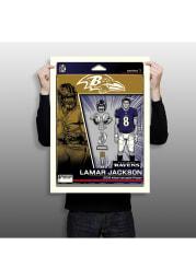 Lamar Jackson Baltimore Ravens Lamar Jackson Unframed Poster