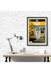 Aaron Rodgers Green Bay Packers Aaron Rodgers Framed Posters