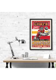 Tyreek Hill Kansas City Chiefs Tyreek Hill Framed Posters