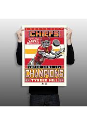 Tyreek Hill Kansas City Chiefs Tyreek Hill Unframed Poster