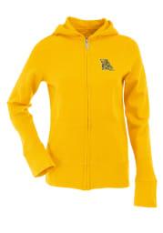 Antigua Missouri Western Griffons Juniors Gold Signature Long Sleeve Full Zip Jacket