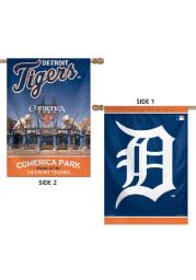 Detroit Tigers 28x40 Stadium Silk Screen Sleeve Banner