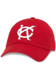 Kansas City Monarchs Ballpark Adjustable Hat - Red