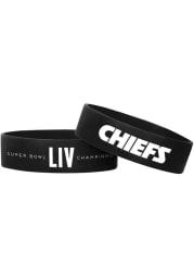 Kansas City Chiefs Super Bowl LIV Champions Bulk Kids Bracelet
