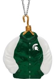 Michigan State Spartans Varsity Jacket Ornament