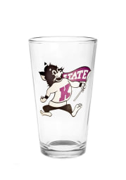 K-State Wildcats Willie Pint Glass