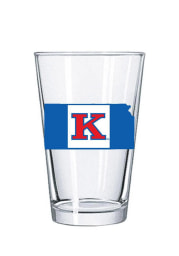 Kansas Jayhawks Gameday Flag Pint Glass
