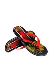 Chicago Blackhawks Big Logo Mens Flip Flops