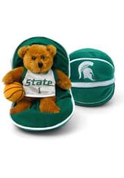 Michigan State Spartans 7.5 Basketball Plush