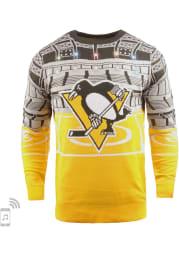 Pittsburgh Penguins Mens Black Bluetooth Long Sleeve Sweater