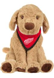 Detroit Red Wings Bandana Puppy Plush