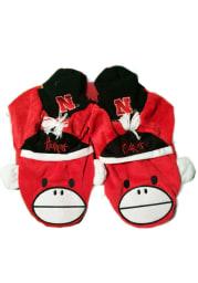 Nebraska Cornhuskers Mascot Youth Slippers