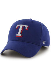 Texas Rangers Blue Basic MVP Youth Adjustable Hat
