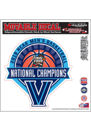 Villanova Wildcats 2018 NCAA Champs 6x6 Auto Decal - Blue