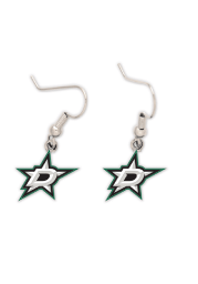 Dallas Stars Logo Dangle Womens Earrings