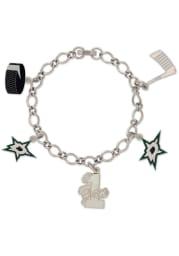 Dallas Stars 5 Charm Womens Bracelet