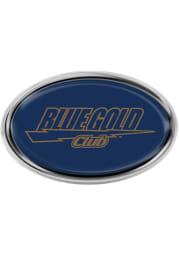 John Carroll Blue Streaks Oval Car Emblem - Blue