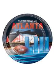 Super Bowl LIII 9 Paper Plates