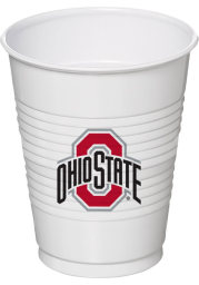 Ohio State Buckeyes 16oz 8 pack Disposable Cups