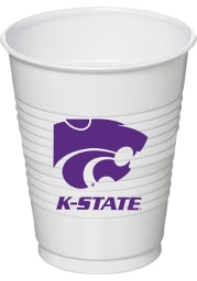 K-State Wildcats 16oz 8 pack Disposable Cups