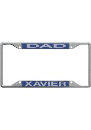 Xavier Musketeers Dad License Frame