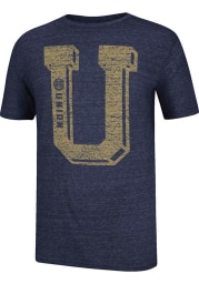 Adidas Philadelphia Union Navy Blue Big Time Short Sleeve Fashion T Shirt