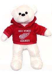 Detroit Red Wings Hoodie Bear Plush
