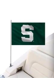 Michigan State Spartans 12x18 Silk Screen Boat Flag