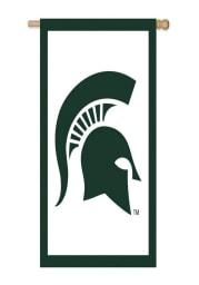 Michigan State Spartans 28x44 Applique Sleeve Banner