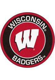 Wisconsin Badgers 27 Roundel Interior Rug