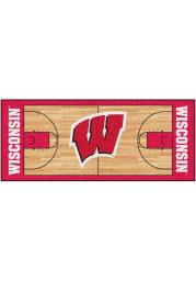 Wisconsin Badgers 30x72 Court Runner Interior Rug