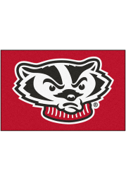 Wisconsin Badgers 19x30 Starter Interior Rug