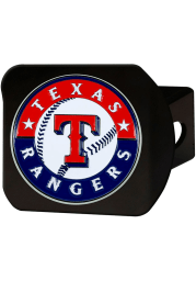 Texas Rangers Color Logo Car Accessory Hitch Cover
