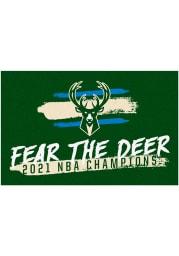 Milwaukee Bucks 2021 NBA Finals Champions Starter Interior Rug